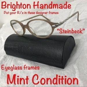 "Brighton Handmade ""Steinbeck"" eyeglass frames"